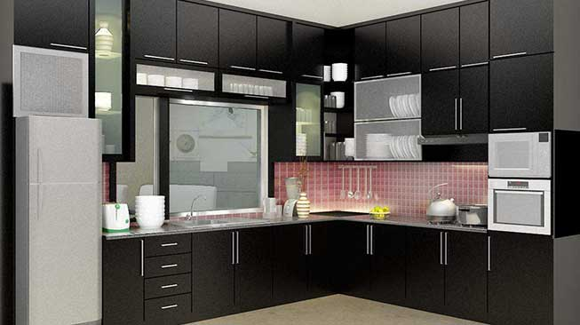 Sriwijaya Furniture Kitchen Set Minimalis